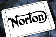 Logotipo da motocicleta de Norton imagens de stock royalty free