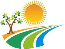 Logotipo da natureza Imagem de Stock Royalty Free