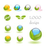 Logotipo da natureza Foto de Stock Royalty Free