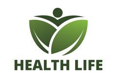 Logotipo da natureza humana Fotografia de Stock