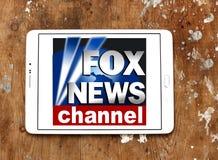 Logotipo da notícia do Fox fotos de stock