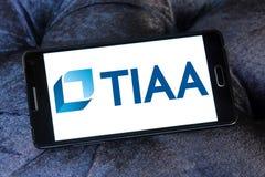 Logotipo da organização de Tiaa Imagens de Stock