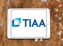 Logotipo da organização de Tiaa Foto de Stock Royalty Free