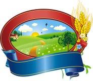 Logotipo da paisagem Fotos de Stock