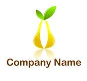 Logotipo da pera ilustração stock
