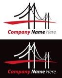Logotipo da ponte Imagens de Stock Royalty Free