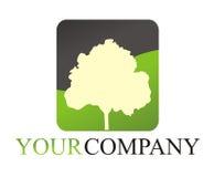 Logotipo da árvore Fotos de Stock Royalty Free