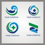 Logotipo da saúde Imagem de Stock Royalty Free