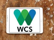 Logotipo da sociedade WCS da conservação dos animais selvagens Imagens de Stock Royalty Free