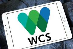 Logotipo da sociedade WCS da conservação dos animais selvagens Imagem de Stock Royalty Free