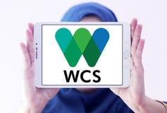 Logotipo da sociedade WCS da conservação dos animais selvagens Fotografia de Stock