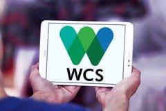Logotipo da sociedade WCS da conservação dos animais selvagens Foto de Stock