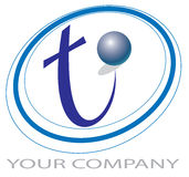 Logotipo da tecnologia Imagem de Stock Royalty Free