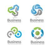 Logotipo da tecnologia Imagem de Stock