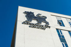 Logotipo da universidade municipal de Birmingham, Reino Unido Fotos de Stock Royalty Free