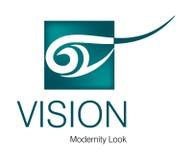 Logotipo da visão Imagem de Stock