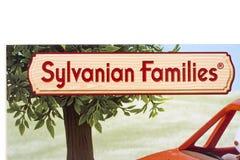 Logotipo das famílias de Sylvanian Fotos de Stock