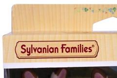 Logotipo das famílias de Sylvanian Imagem de Stock