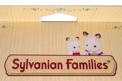 Logotipo das famílias de Sylvanian Imagens de Stock