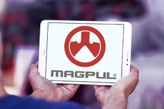 Logotipo das indústrias de Magpul Imagens de Stock Royalty Free