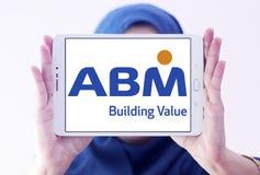 Logotipo das indústrias do ABM Foto de Stock