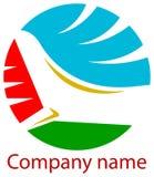 Logotipo das linhas aéreas Fotografia de Stock