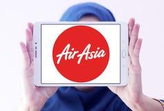 Logotipo das linhas aéreas de Air Asia Foto de Stock Royalty Free