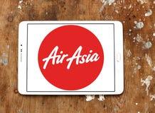 Logotipo das linhas aéreas de Air Asia Imagem de Stock