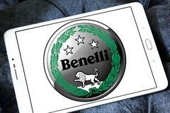 Logotipo das motocicletas de Benelli Foto de Stock