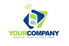 Logotipo das telecomunicações ilustração do vetor