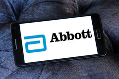 Logotipo de Abbott Fotografía de archivo libre de regalías