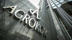 Logotipo de Agrokor Imagens de Stock