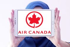 Logotipo de Air Canada Imagem de Stock Royalty Free
