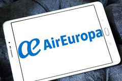 Logotipo de Air Europa Imagem de Stock Royalty Free