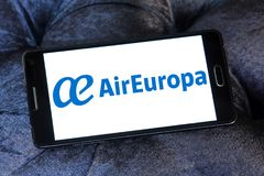 Logotipo de Air Europa Foto de Stock