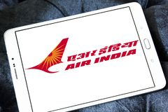 Logotipo de Air India Imagens de Stock