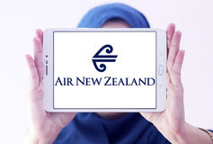 Logotipo de Air New Zealand Fotos de Stock Royalty Free
