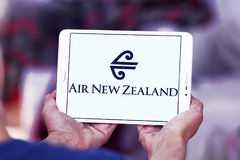 Logotipo de Air New Zealand Fotografia de Stock Royalty Free