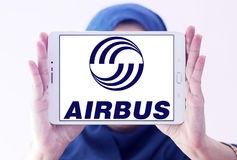 Logotipo de Airbus Fotografia de Stock Royalty Free