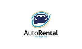 Logotipo de alquiler auto stock de ilustración