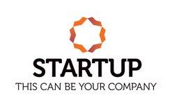 Logotipo de alta qualidade da empresa do vetor Imagem de Stock