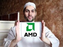 Logotipo de Amd Foto de Stock Royalty Free