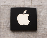 Logotipo de Apple Store Fotografia de Stock Royalty Free