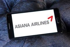 Logotipo de Asiana Airlines Foto de archivo libre de regalías