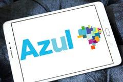 Logotipo de Azul Brazilian Airlines foto de stock royalty free