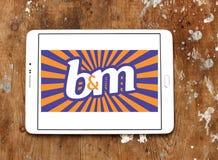Logotipo de B&M European Retail Value imagen de archivo