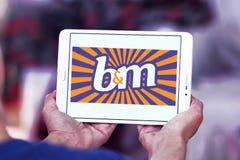 Logotipo de B&M European Retail Value foto de archivo libre de regalías