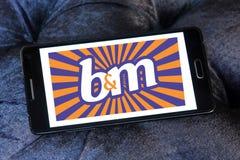 Logotipo de B&M European Retail Value foto de archivo