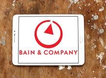 Logotipo de Bain & Company Fotografía de archivo