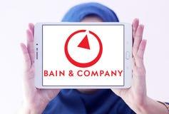 Logotipo de Bain & Company Imágenes de archivo libres de regalías